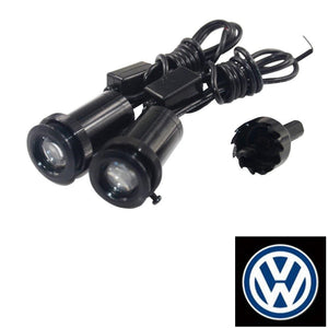 2Pcs  Puddle Lights Car Door Projector Lights Fit Volkswagen Free Shipping