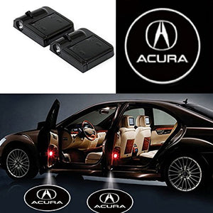 Acura door welcome projector lights