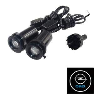 2Pcs  Puddle Lights Car Door Projector Lights Fit Opel Free Shipping
