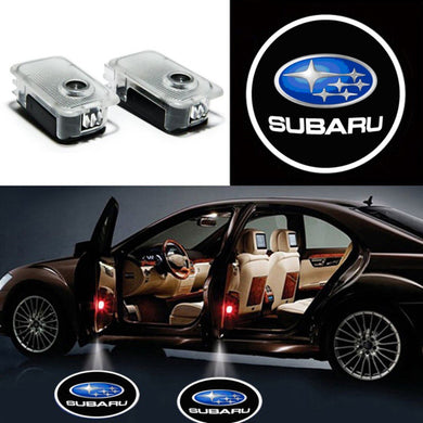 2X Ghost Shadow Light LED Welcome Projector Courtesy Step Lights Fit Subaru Free Shipping