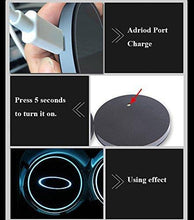 Load image into Gallery viewer, 2PCS Car LED Cup Holder Lights for Hyundai  with 7 Colors Changing USB Charging Mat
