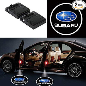 2XLED Car Door Projectors Ghost Shadow Lights for Subaru Free Shipping