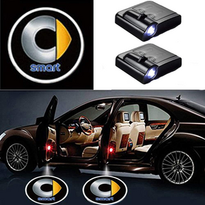 2X Easy Installation Car Door LED Logo Projector For Smart Free Shipping