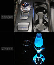 Load image into Gallery viewer, 2X LED Car Cup Holder Lights for Lincoln With 7 Colors Changing