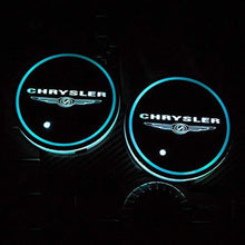 Load image into Gallery viewer, 2PCS Car LED Cup Holder Lights for Chrysler with 7 Colors Changing