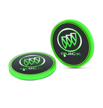 Load image into Gallery viewer, 2PCS Car LED Cup Holder Lights for Buick Car Logo Cup Coaster with 7 Colors Changing USB Charging Mat