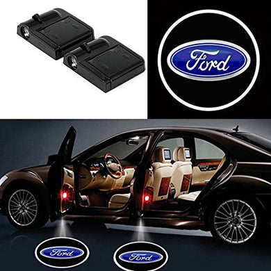 Ford door light logo