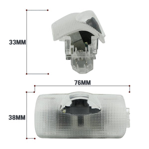 2X Ghost Shadow Light LED Welcome Projector Courtesy Step Lights Fit Toyota Free Shipping