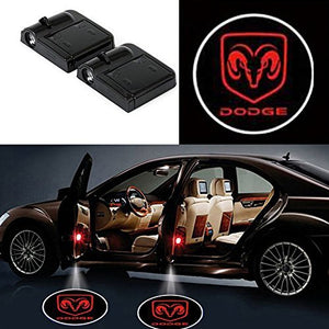 dodge door projector lights