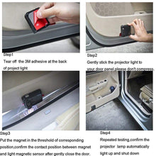 Load image into Gallery viewer, 2 Pcs LED Car Door Logo Ghost Shadow Light for Hyundai Free Shipping