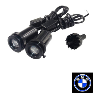 2Pcs  Puddle Lights Car Door Projector Lights Fit BMW Free Shipping