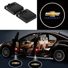 Load image into Gallery viewer, Autospore-Chevy Door Welcome Projector Lights