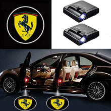 Load image into Gallery viewer, 2 Pcs LED Car Door Logo Ghost Shadow Light for Porsche Free Shipping
