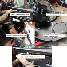 Load image into Gallery viewer, 2Pcs  Puddle Lights Car Door Projector Lights Fit Mazda Free Shipping
