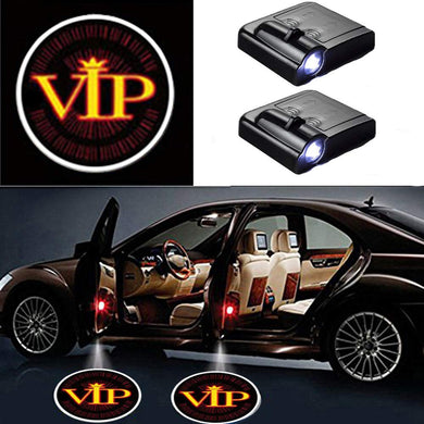 2 Pcs LED Car Door Logo Ghost Shadow Light for VIP Free Shipping