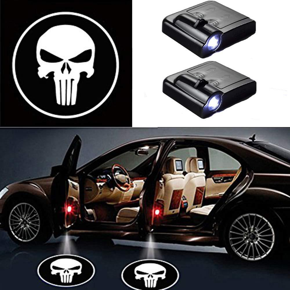 2 Pcs LED Car Door Logo Ghost Shadow Light for Toyota Free Shipping