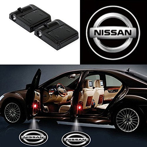 nissan door projector lights