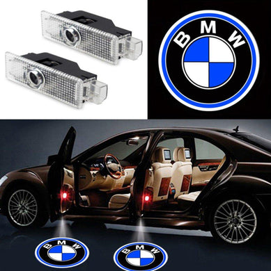 2X Ghost Shadow Light LED Welcome Projector Courtesy Step Lights Fit BMW Free Shipping