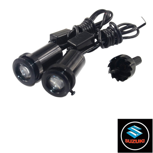 2Pcs  Puddle Lights Car Door Projector Lights Fit Suzuki Free Shipping