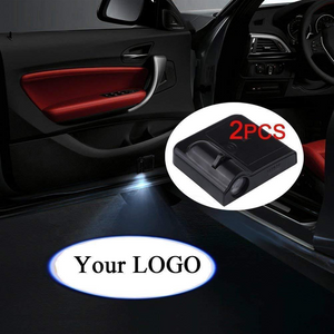2X Easy Installation Car Door LED Logo Projector for Audi Free Shipping