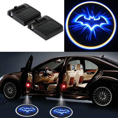 2XCar Door Light LED Projector Logo Lamp  Bat Man Free Shipping