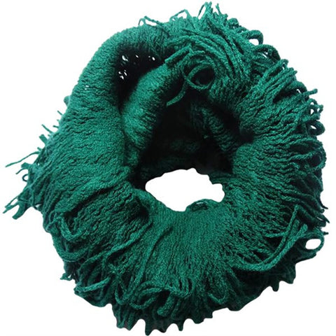 Fine Fringe Scarf- 2 Colors
