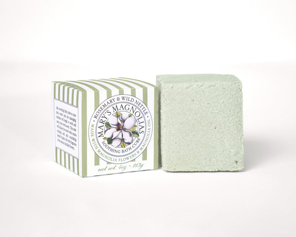 Rosemary & Wild Nettle Bath Cube