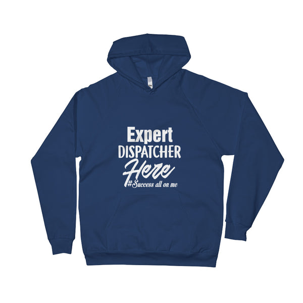 EXPERT DISPATCHER MEN'S FLEECE HOODIE
