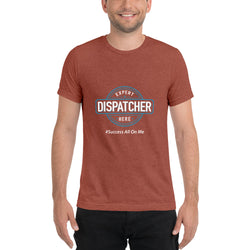 EXPERT DISPATCHER MEN'S SHORT SLEEVE T-SHIRT