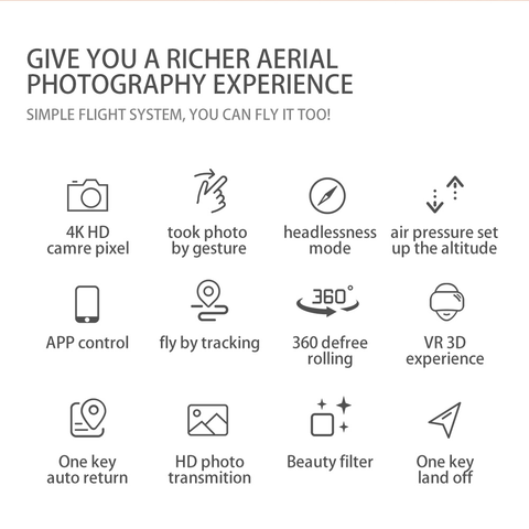 Give You a Richer Aerial Photography Experience