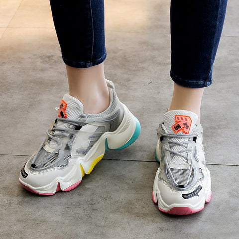 Rainbow Colors Sneaker for Girls