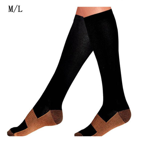 Zippered Compression Socks
