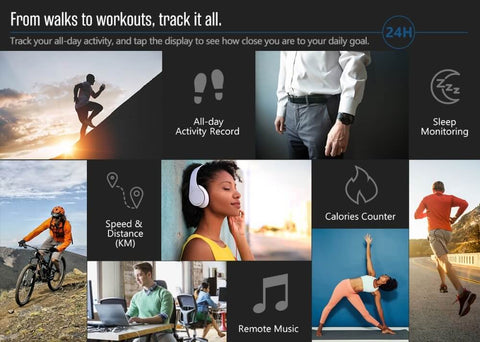 Track All Your Activity