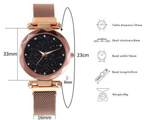 STARRY SKY MAGNETIC MESH