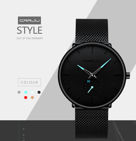 Quartz Watch Men Colors