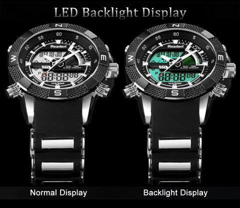 Watch dial with Hi-tech LED LIGHT