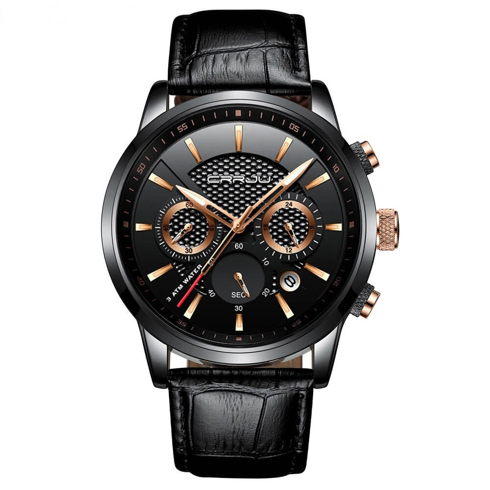 FASHION QUARTZ WRIST WATCH CHRONOGRAPH