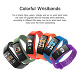SMART BRACELET CS1 FITNESS WATERPROOF HEART RATE SPORT PK MI BAND 4