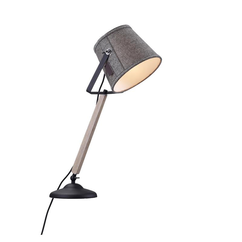 Markslöjd Legend Bordslampa 1L Grey/Black