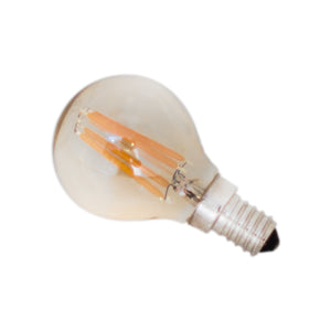 Filament dekorationslampa LED dimbar klot E14 4W Ø45mm Amber By Rydéns