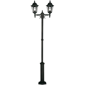 Elstead Lighting Parish Lyktstople 2L - Svart
