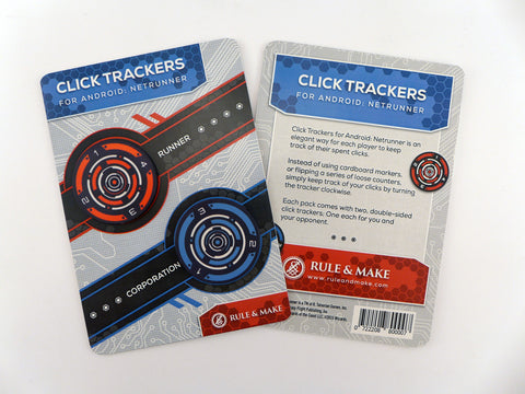 Click Trackers for Android: Netrunner LCG