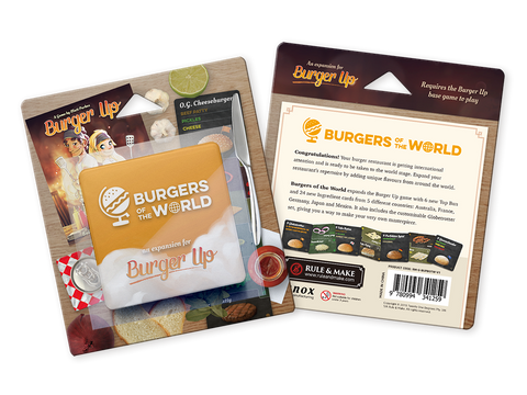 Burgers of the World Expansion for Burger Up