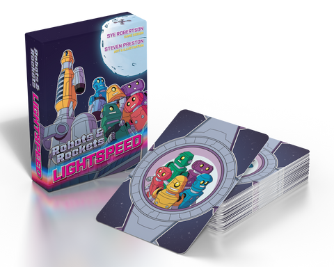 Robots & Rockets: Lightspeed – A Rocket-Building Card Game