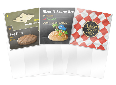 Burger Up - 150 Premium Sleeve Triple Pack (80mm x 80mm)