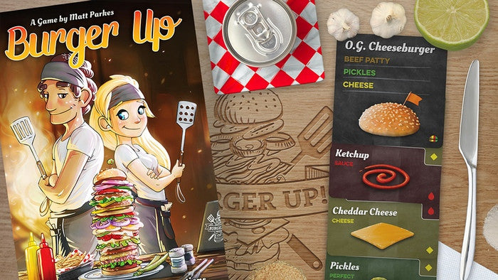 Burger Up – Print & Play Edition