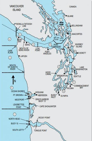 Marine Areas Map