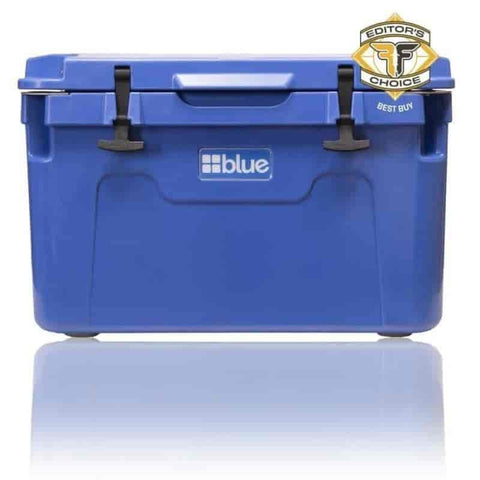 55 Quart Ice Vault Roto-Molded Cooler - Blue Coolers - Willapa Outdoor