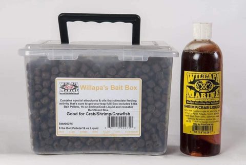 Willapa's Bait Box Combo - Bait & Scents