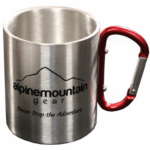 Drinkware-Alpine Mountain Gear Carabiner Mug - Willapa Outdoor